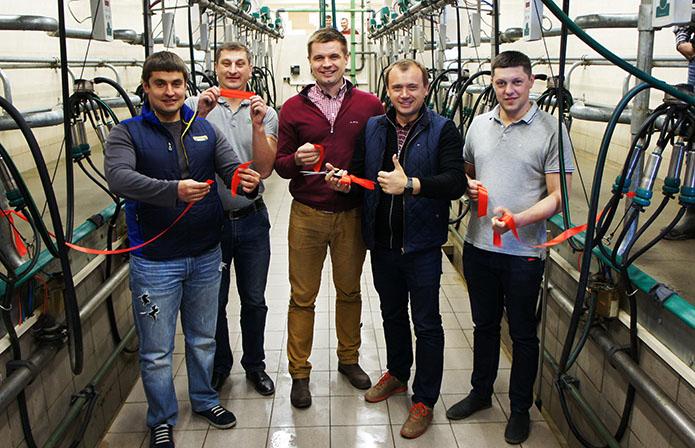 ІМК запустила першу чергу молочно-товарної ферми на Чернігівщині