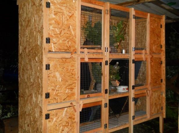 Устаткування шедів для кроликів