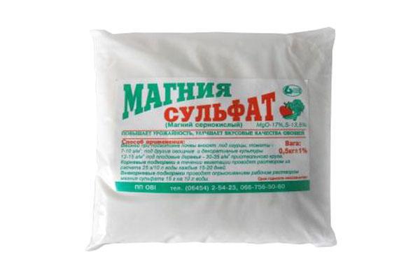 9239 Сульфат магнію (добриво) – інструкція із застосування, норми внесення