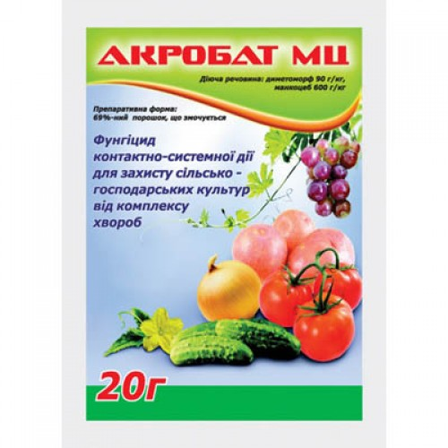 Акробат для рослин інструкція із застосування