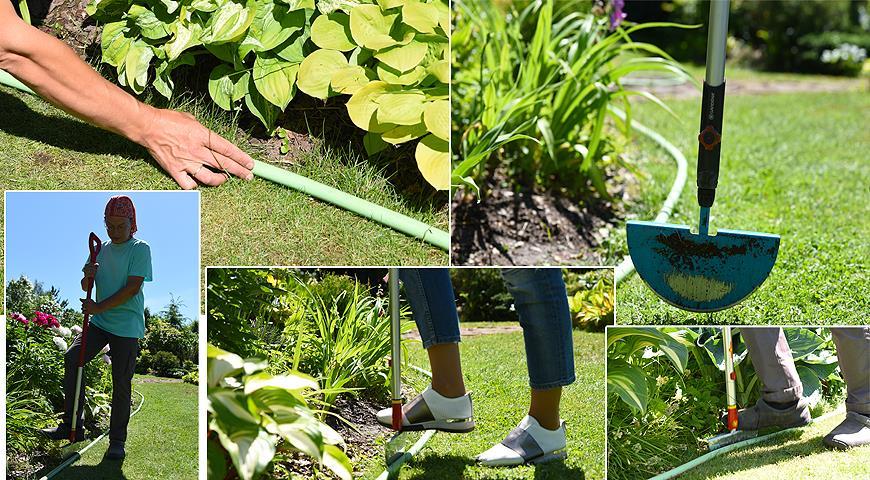 10691 Як сформувати ідеальну крайку газону з фото і відео