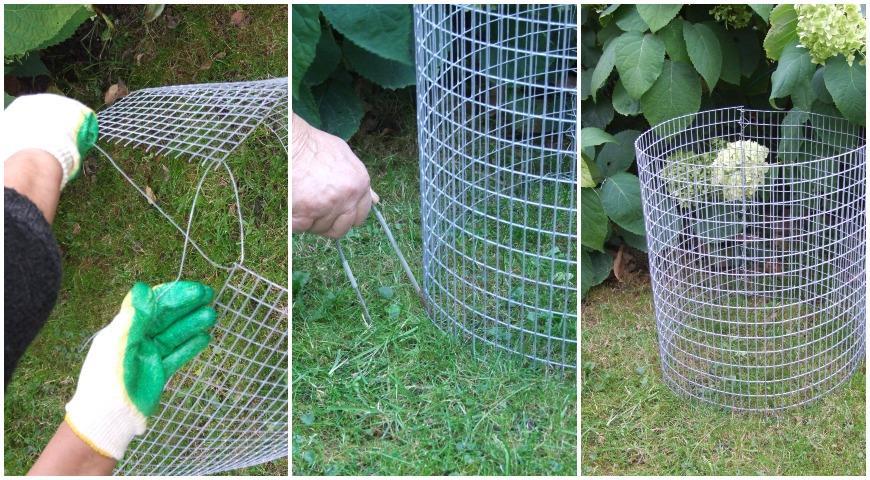 10826 Как сделать прикольный садовый пуфик из габиона: мастер-класс Ольги Вороновой